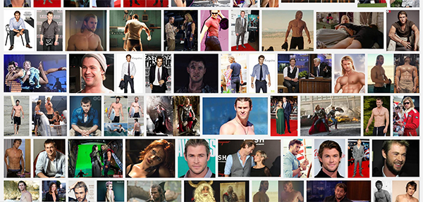 google image search results for chris hemsworth
