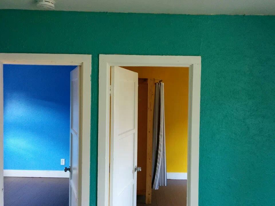 These are the colors we painted our walls.